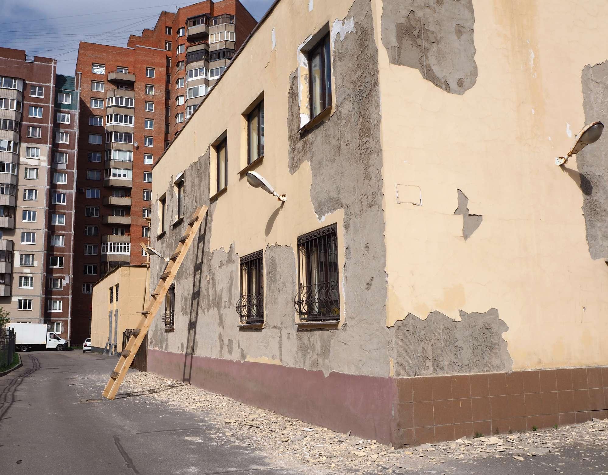 rendering-outside-wall-London